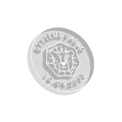 Emporte-pièce rond lion anniversaire thème savane