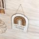 Arc-en-ciel décoratif chambre enfant personnalisé