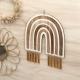 Arc-en-ciel décoratif original bois et plexiglas