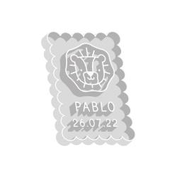 Emporte-pièce personnalisé petit lu lion thème savane