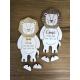 Décoration originale personnalisée thème lion cadeau naissance