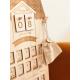 Calendrier de l'Avent personnalisé en bois, décoration de Noël originale