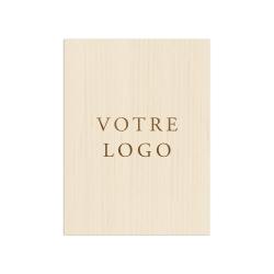 Panneau de bienvenue avec votre logo de mariage