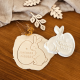 Emporte-pièce lapin et son oeuf décoration de Pâques