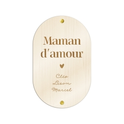 Pancarte personnalisée fête des mères, cadeau original