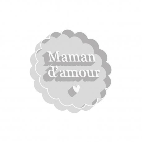 Emporte-pièce pour biscuits Maman d'amour, cadeau original