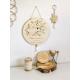 Cadeaux originaux fête des mères mama bird, porte-clés en bois