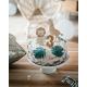 Gâteau d'anniversaire thème savane cake topper animaux