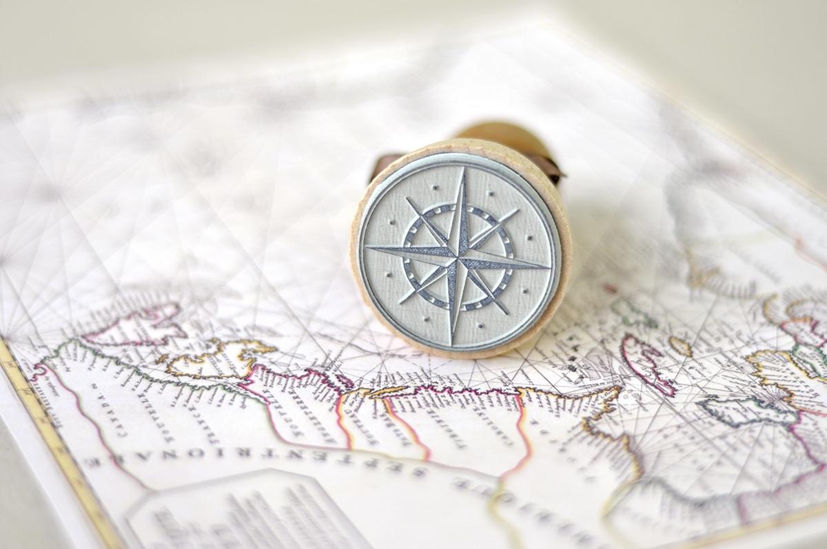 Papeterie sur-mesure : Deux aventuriers, un voyage